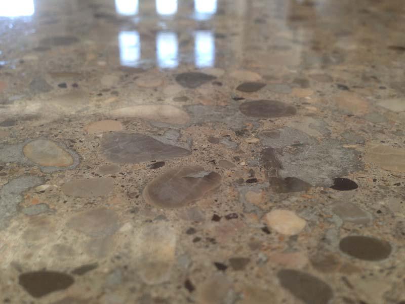 trattamento levigatura lucidatura pavimento cemento