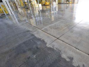 lucidatura pavimento in cemento