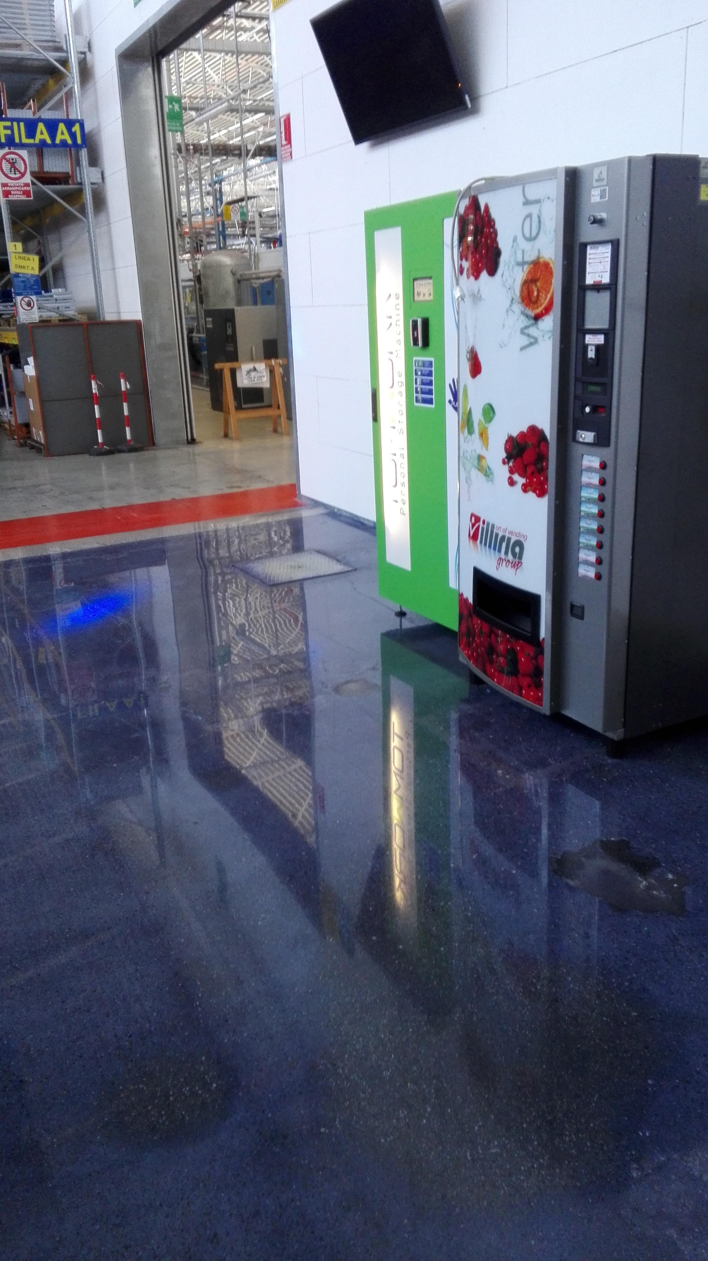 Pavimento In Cemento Prezzi pavimenti in cemento colorato - zanchetta ennio