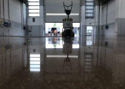 Lucidatura pavimento cemento