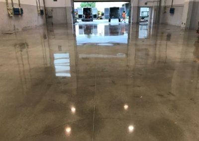 Levigatura pavimento cemento