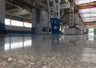 levigatura pavimento cemento  Socage modena