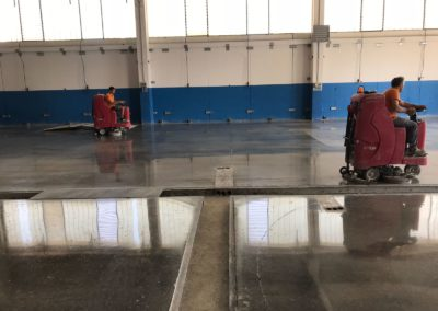 lucidatura pavimentazione cemento  Socage emilia romagna