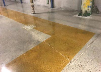 lucidatura pavimento cemento venezia