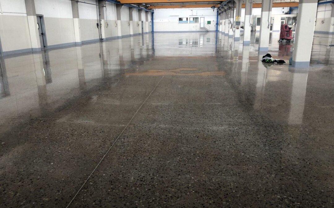 Lucidatura pavimento Gaia Plast – Treviso